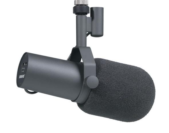 Shure SM7B studio dynamic microphone (Cardioid)
