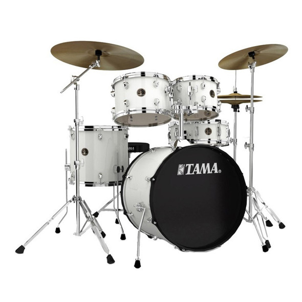 Tama Rhythm Mate Complete Drum Kit with Zildjian Cymbals, White