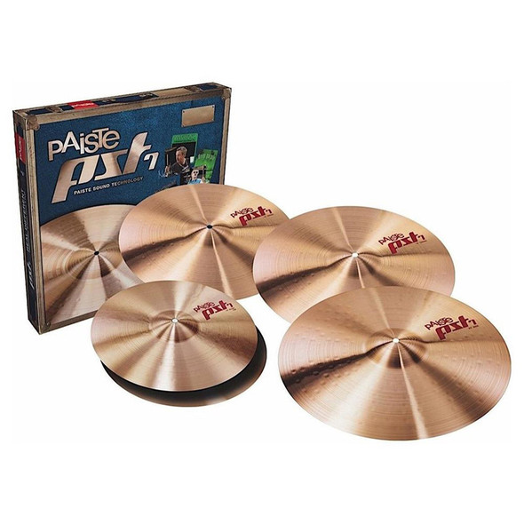 Paiste PST7US16SET PST 7 Medium 4 Piece Cymbal Set