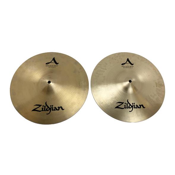 Zildjian 14 Inch New Beat Hi-Hat Cymbals (Pre-Owned)
