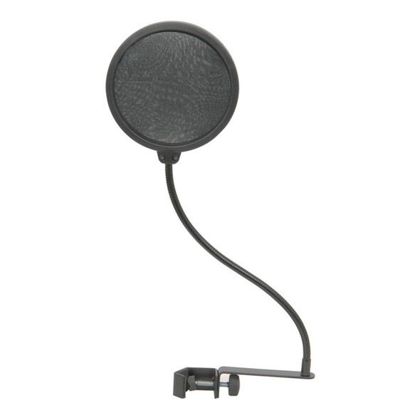 Citonic Microphone Pop Screen with Goosneck Clamp