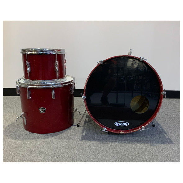 Carlton President 3 Piece Shell Pack in Red Sparkle (Pre-Owned)