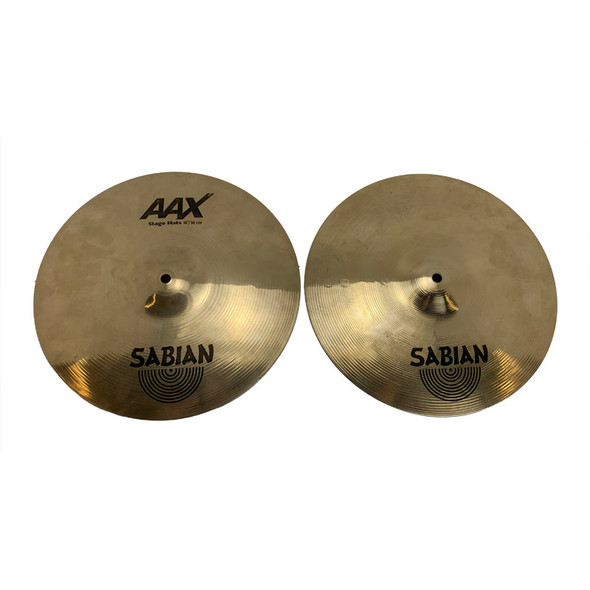 Sabian AAX 14 Inch Stage Hi-Hat Cymbals (Pre-Owned)