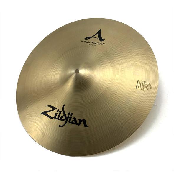 Zildjian 16 Inch A Medium Thin Crash Cymbal (Pre-Owned)