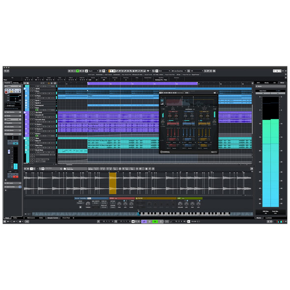 Steinberg Cubase Pro 11 Audio/MIDI Recording Software (EDUCATION EDITION)