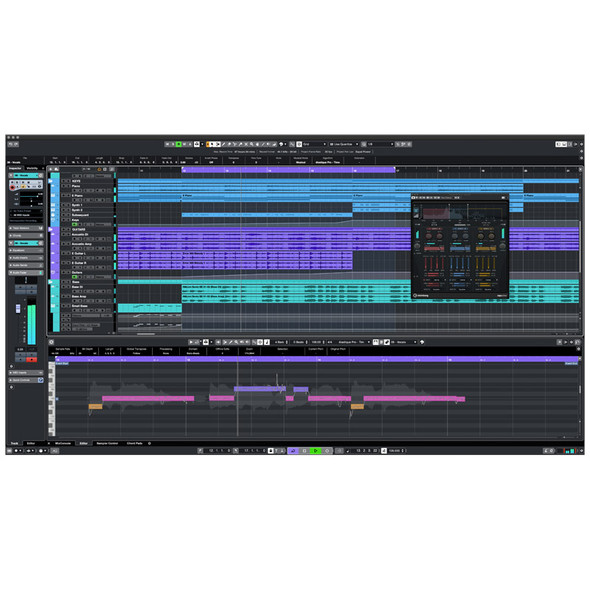 Steinberg Cubase Artist 11 Audio/MIDI Recording Software