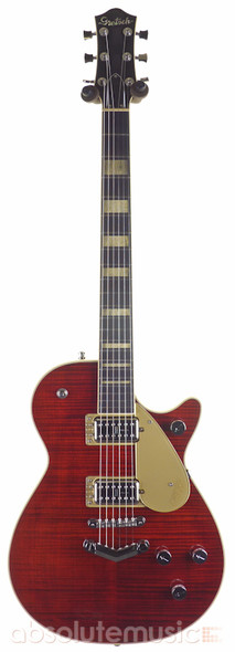 Gretsch G6228FM Players Edition Jet BT Electric Guitar, Crimson Stain  (b-stock)