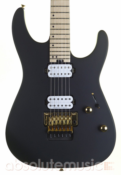 Charvel Pro-Mod DK24 HH Electric Guitar, Satin Black, Maple (b-stock)