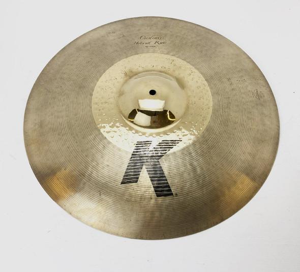 Zildjian K Hybrid 21 Inch Ride Cymbal (pre-owned)