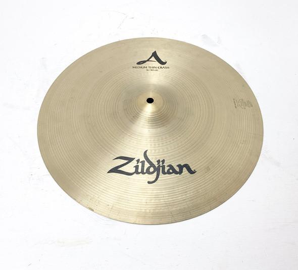 Zildjian A 16 Inch Medium Thin Crash Cymbal (pre-owned)