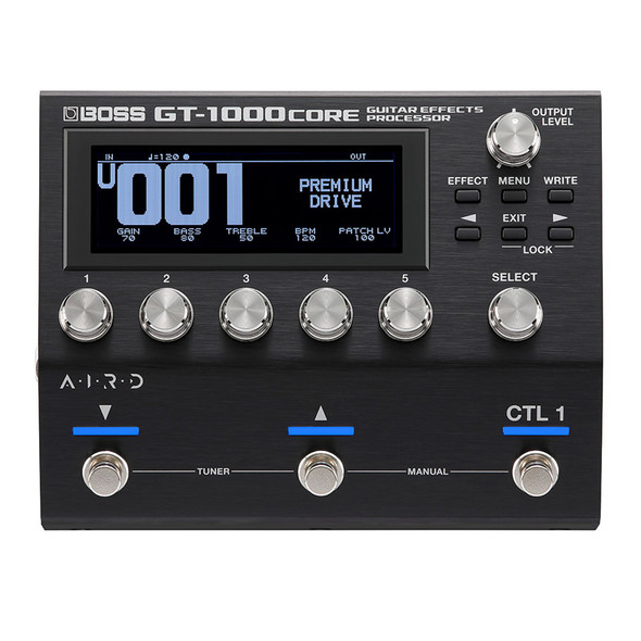 Boss GT-1000CORE Multi Guitar Effects Pedal  (as new)