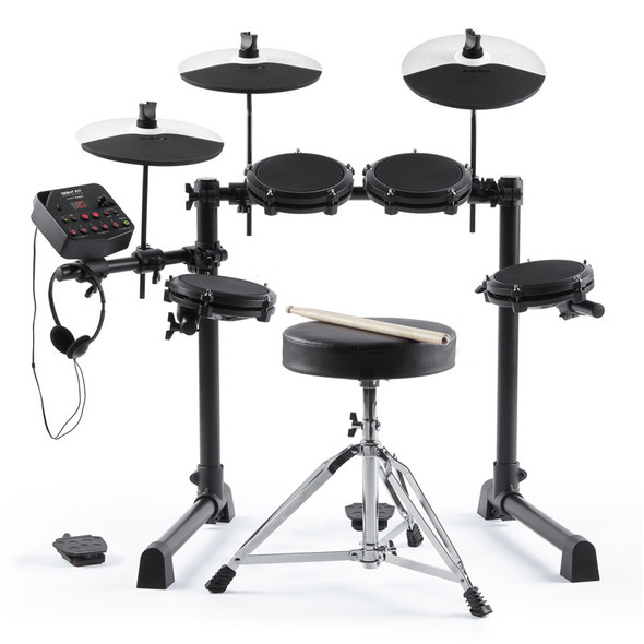Alesis Debut Electronic Drum Kit with Stool, Sticks & Headphones