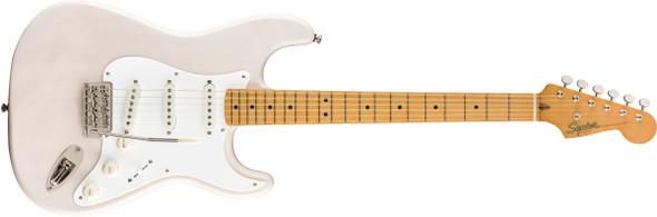 Fender Squier Classic Vibe 50s Stratocaster, White Blonde, Maple