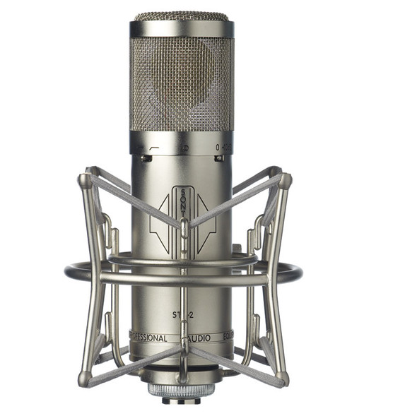 Sontronics STC-2 large diaphragm condenser mic (Silver, includes suspension)