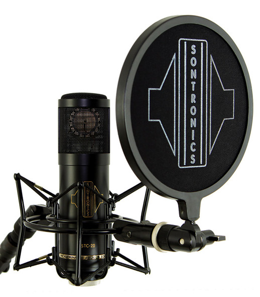 Sontronics STC-20 Pack Condenser Microphone with Accessories, Black