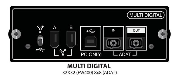 Soundcraft Multi Digital Expansion Card for Si Series USB, FireWire, ADAT