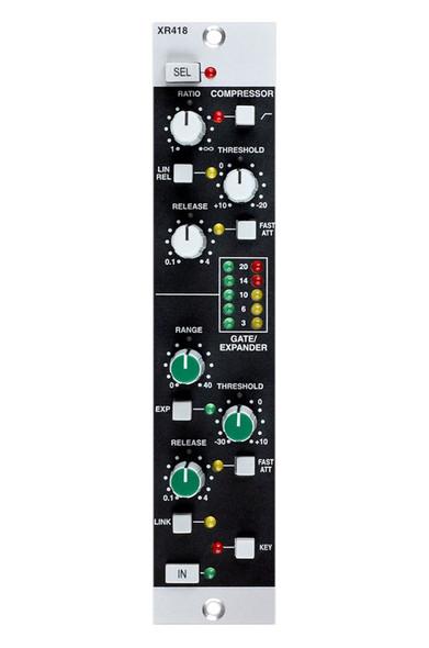 Solid State Logic (SSL) XRack E Series Dynamics Module XR418