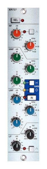 Solid State Logic (SSL) X-Rack XR727 Stereo EQ Module