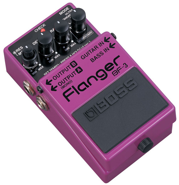 Boss BF3 Flanger Effects Pedal  (ex-display)