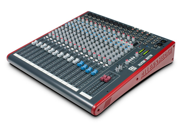 Allen & Heath Zed 18 Mixing Console (10 mono + 4 stereo channels)