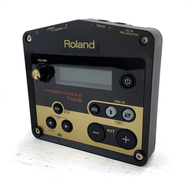Roland TM-2 Drum Trigger Module with Flight Case (Pre-Owned)