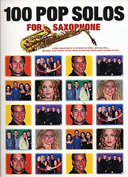 100 Pop Solos For Saxophone