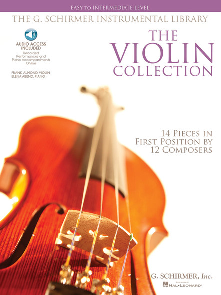 The Violin Collection: Easy To Intermediate Level (Book And CD)