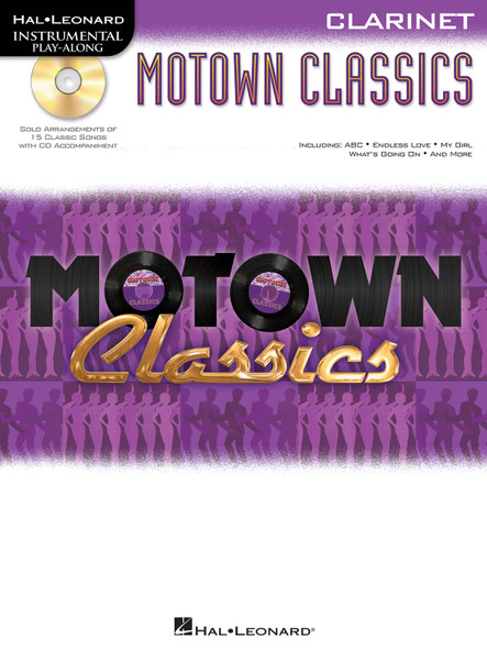Instrumental Play-Along: Motown Classics - Clarinet