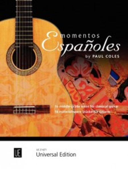 Paul Coles Momentos Espanoles Guitar BK