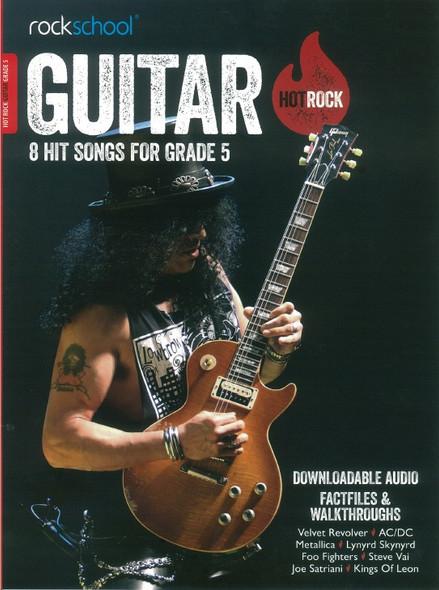 Rockschool: Hot Rock Guitar - Grade 5 (Book/Online Audio)