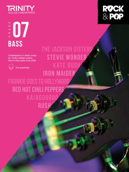 Trinity Rock & Pop 2018 Bass - Grade 7 BGTR BK/AUD
