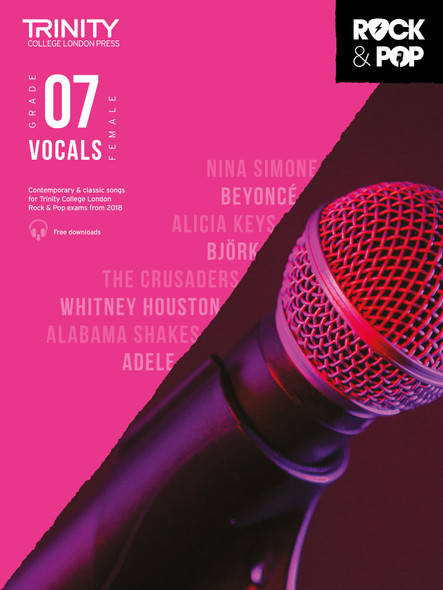 Trinity Rock & Pop 2018 Female Vocals - Grade 7 BK/AUD