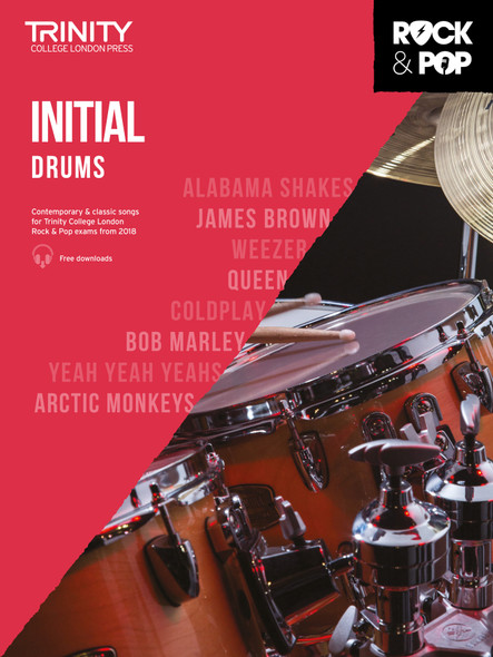 Trinity Rock & Pop 2018 Drums - Initial BK/AUD