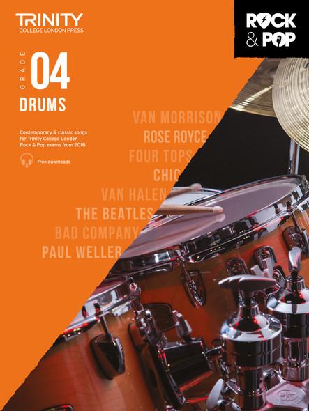 Trinity Rock & Pop 2018 Drums - Grade 4 BK/AUD