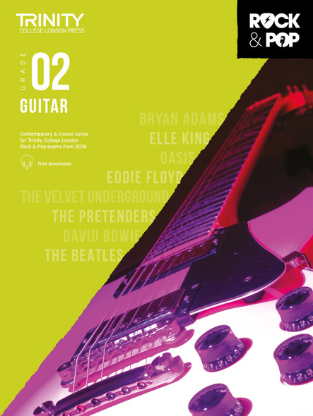 Trinity Rock & Pop 2018 Guitar - Grade 2 BK/AUD