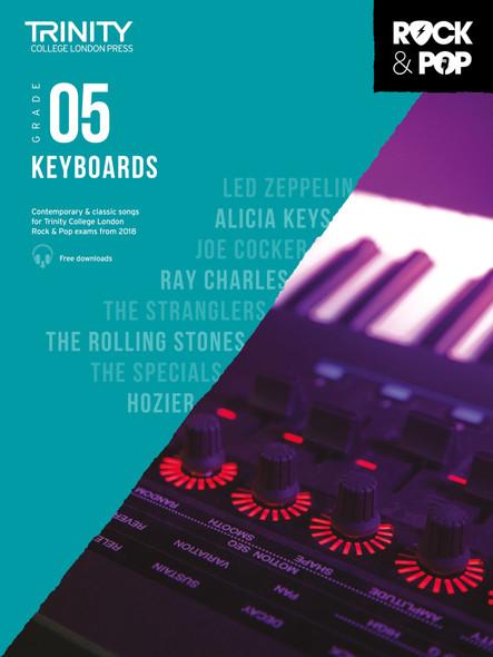 Trinity Rock & Pop 2018 Keyboards - Grade 5 BK/AUD