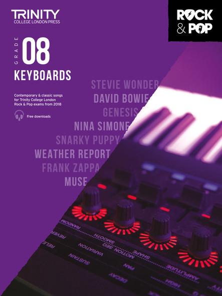 Trinity Rock & Pop 2018 Keyboards - Grade 8 BK/AUD