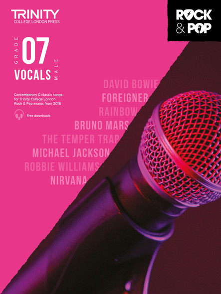 Trinity Rock & Pop 2018 Male Vocals - Grade 7 BK/AUD