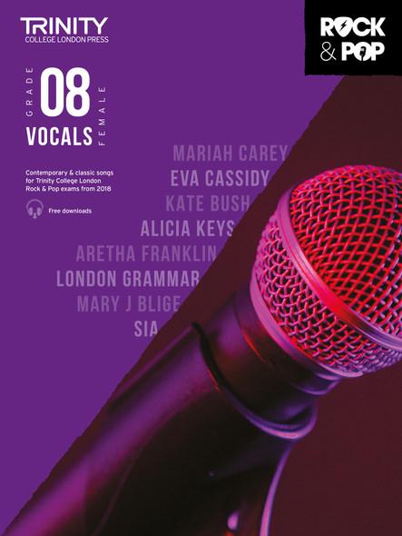 Trinity Rock & Pop 2018 Female Vocals - Grade 8 FVCE BK/AUD