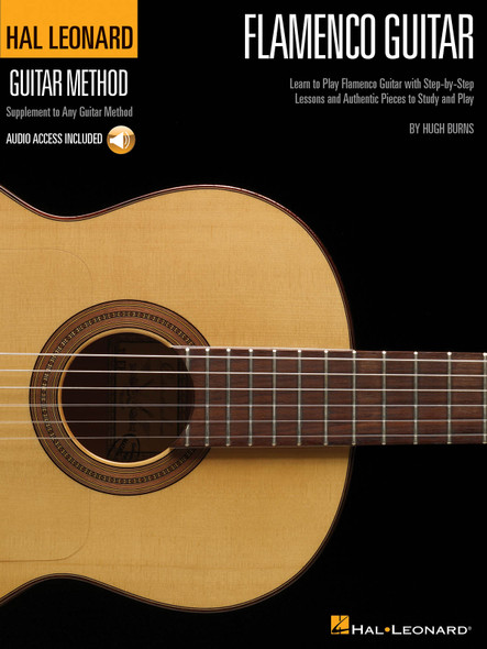 Hal Leonard Flamenco Guitar Method BK/CD
