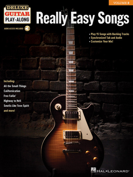 Deluxe Guitar Play-Along: Really Easy Songs GTR BK/AUD