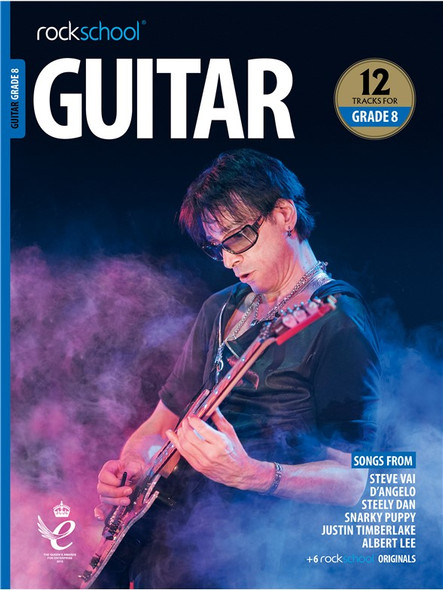 Rockschool: Guitar Grade 8 2018 (Book/Audio)