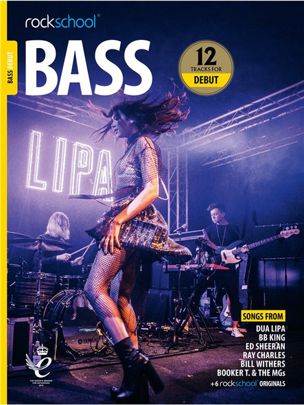 Rockschool: Bass Debut 2018 (Book/Audio)