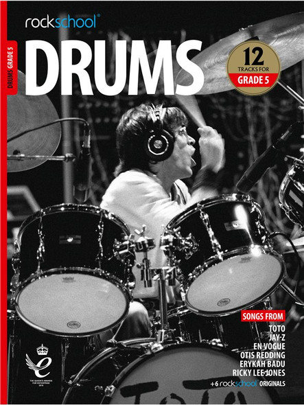 Rockschool: Drums Grade 5 2018 (Book/Audio)