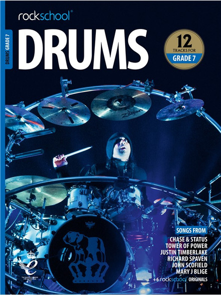Rockschool: Drums Grade 7 2018 (Book/Audio)