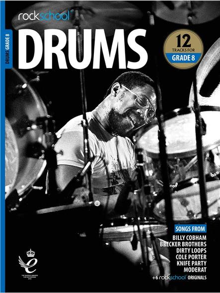 Rockschool: Drums Grade 8 2018 (Book/Audio)