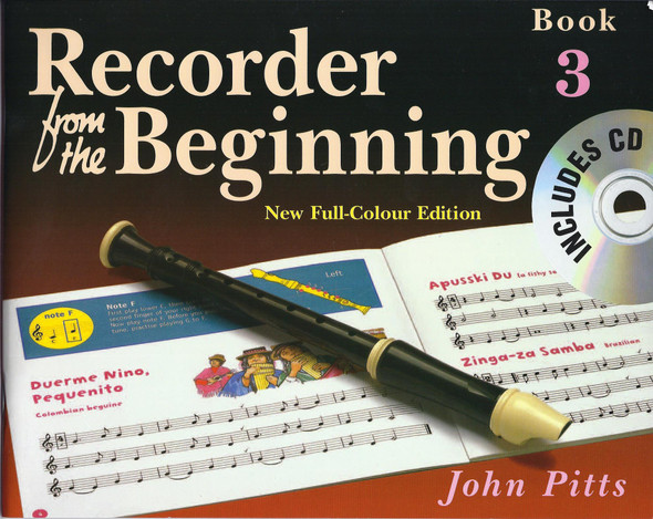 Recorder From The Beginning : Pupil's Book/CD 3