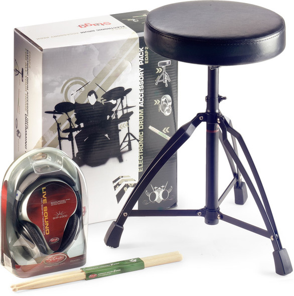 Stagg EDAP 2 Electronic Drum Kit Accessory Pack
