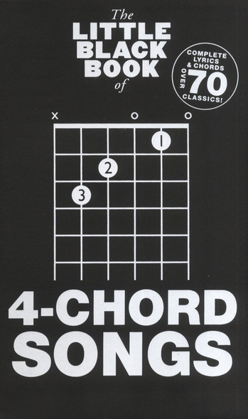 The Little Black Songbook: 4-Chord Songs