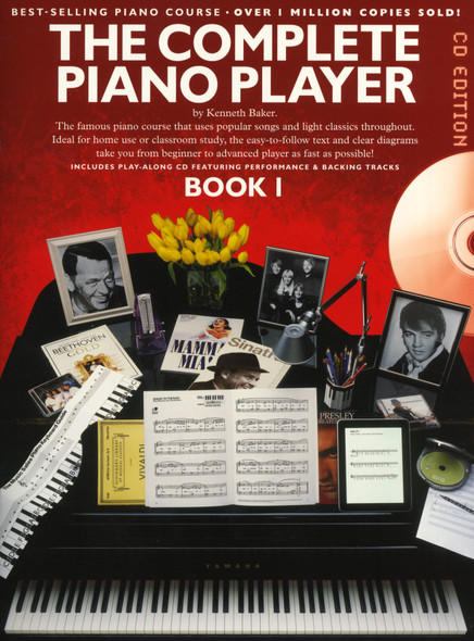 The Complete Piano Player: Book 1 - CD Edition